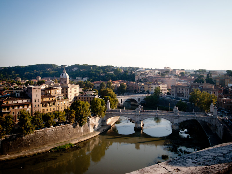 view from Castel S.Angelo
